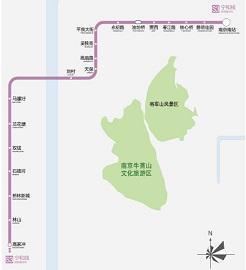 南京地铁s3号线线路图